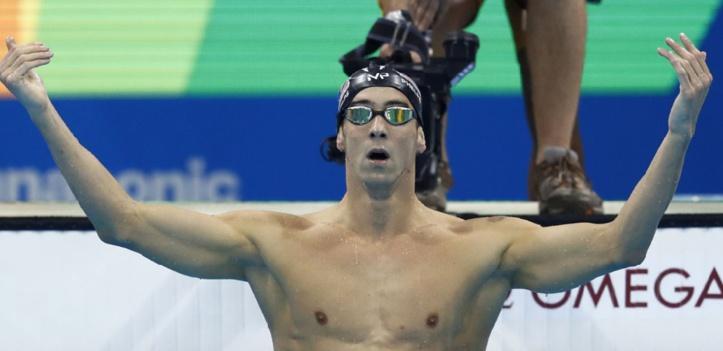 La légende Phelps au sommet de son art, les Etats-Unis triomphent