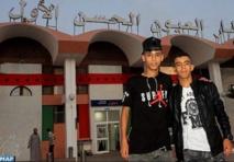 Al-Bachir et Khatri, deux passionnés du Beach Soccer et symboles de la dynamique sportive à Laâyoune