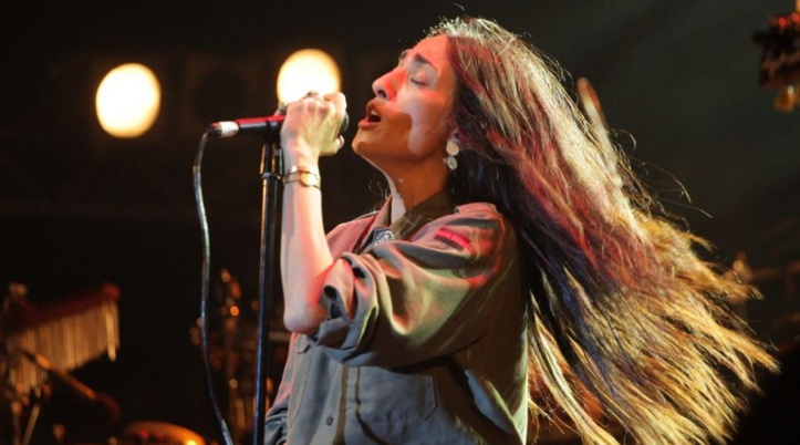 "Hindi Zahra en concert au ""Royal Albert Hall"" de Londres"