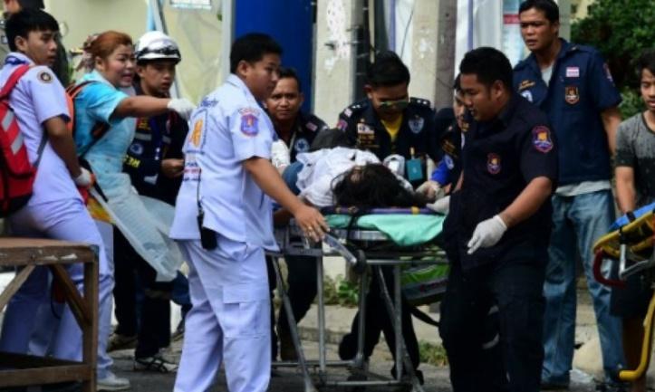 Quatre morts dans l'explosion en série de bombes en Thaïlande