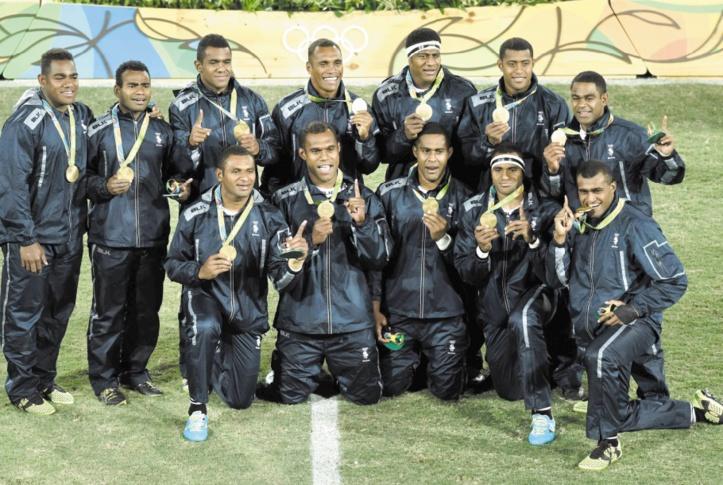 Le rugby à VII fidjien de plain-pied dans l'histoire olympique
