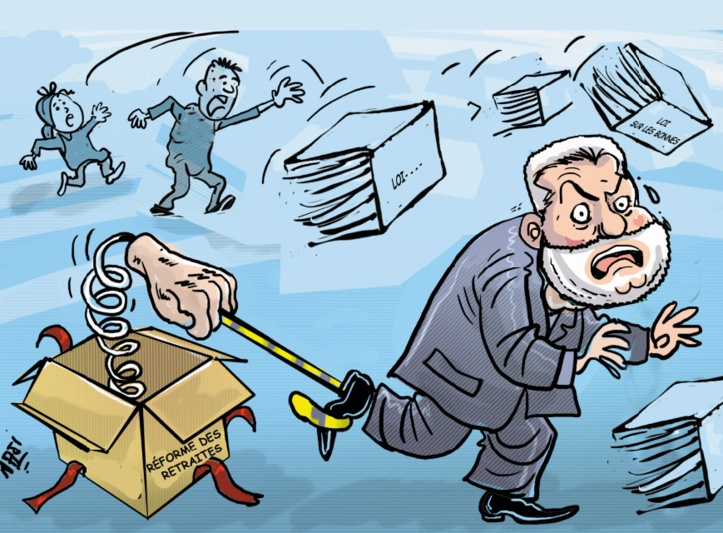 Les lois scélérates de Benkirane