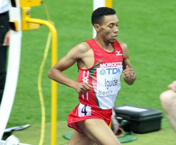 Abdelaati Iguider : Je ressens de l'enthousiasme et une forte détermination dans ces Olympiades