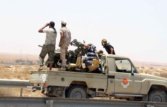 Les forces libyennes affirment continuer à progresser dans Syrte