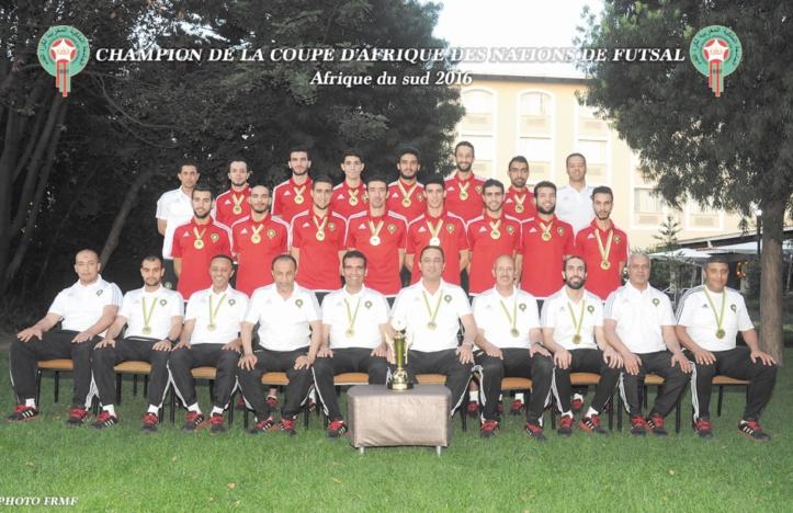 L'équipe du Maroc de futsal aborde la dernière ligne droite avant l'entame du Mondial