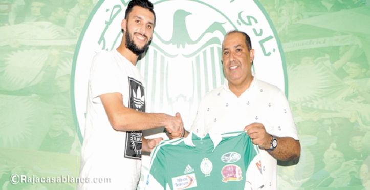 Mohamed Oulhaj rempile avec les Verts