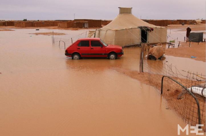 Nouvelles inondations dans les camps de Tindouf