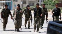 Avancée des forces kurdes à Hassaké en Syrie