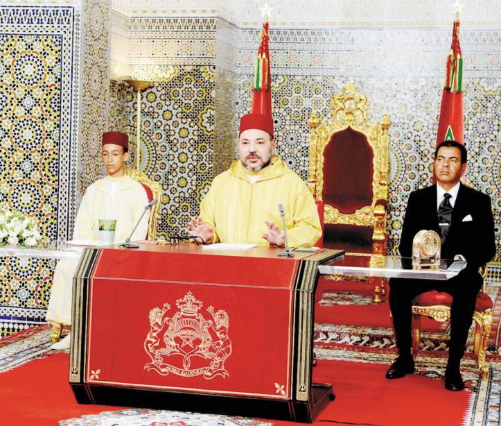 Dans son discours à l'occasion du 63ème anniversaire de la Révolution du Roi et du peuple S.M le Roi : Les terroristes qui agissent au  nom de l'Islam ne sont pas des musulmans