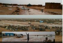 Violentes averses sur les camps de Tindouf