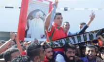 Rabii accueilli en héros  à Casablanca
