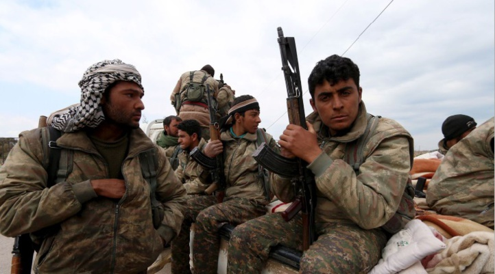 Assaut des milices kurdes contre l'armée syrienne à Hassaka