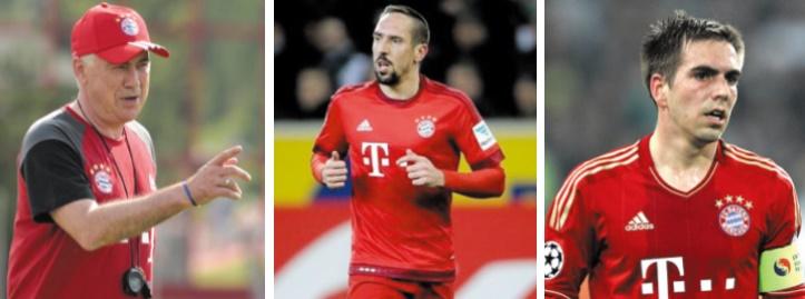 Ancelotti défend Ribéry et encense Lahm