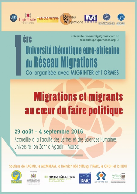 Migrations et migrants au cœur du faire politique