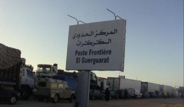 La caravane passe à El Guerguarat et les chiens ne se lassent pas d'aboyer