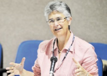 La présidente du Fonds mondial pour la nature (WWF), Yolanda Kakabadse.
