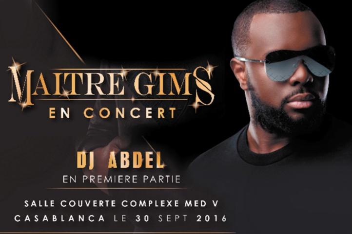 Maître Gims en concert à Casablanca