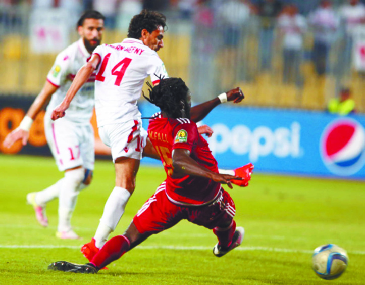 Le WAC  déconfit par le  Zamalek