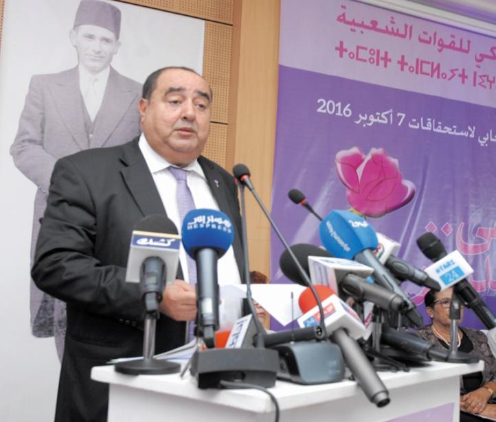Driss Lachguar : La marche organisée à Casablanca est le résultat d'un complot ourdi par la majorité gouvernementale