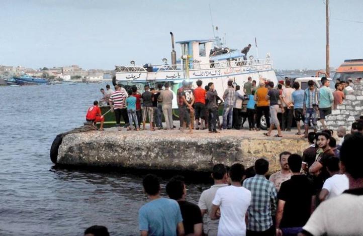 42 morts dans le naufrage d'un bateau de migrants au large de l'Egypte