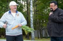 Insolite : Une carotte pour Seagal