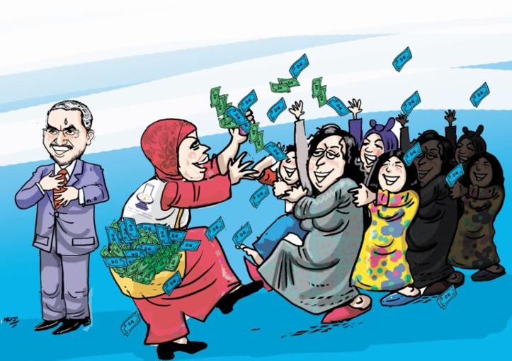 Le PJD en flagrant délit de tentative de soudoiement des électeurs