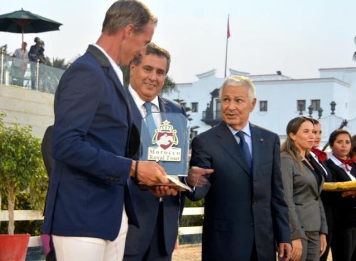Alain Jufer s'adjuge le Grand Prix S.A.R le Prince Héritier Moulay El Hassan du Morocco Royal Tour
