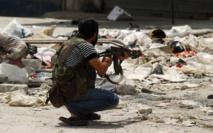 Les combats de rue à Alep font rage