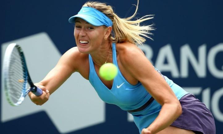 Suspension réduite pour Sharapova