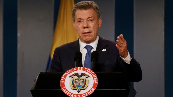 Le président Santos donnera l'argent de son Nobel de la paix aux victimes du conflit colombien