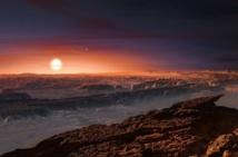 Un océan à la surface de la planète Proxima b