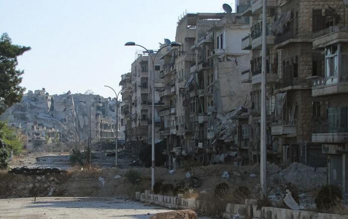 Alep-Est à nouveau pilonnée par l'aviation russe