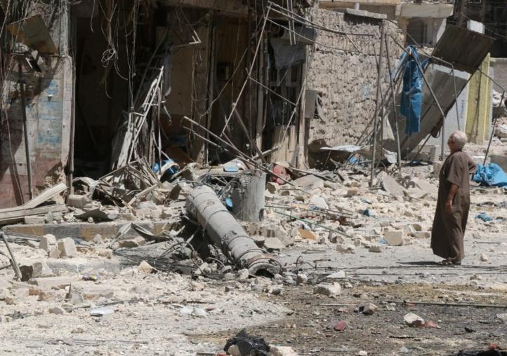 Des dizaines de frappes aériennes sur Alep-Est