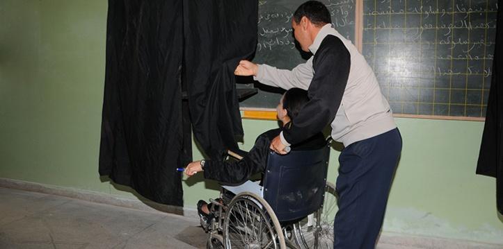 Lors des législatives, 62% des centres de vote ont été inaccessibles aux personnes en situation de handicap