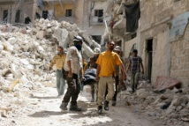 Au moins 12 civils tués dans des raids aériens sur Alep (OSDH)