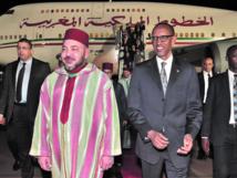 Tournée Royale dans trois pays africains