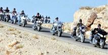 Le tour international motos de la Marche Verte Madrid-Laâyoune