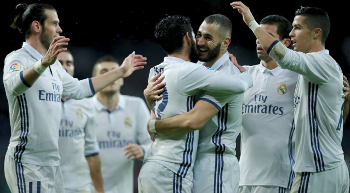 Le Real, leader in extremis de la Liga