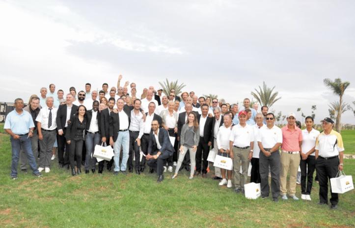 Tournoi interclubs de golf à Marrakech