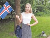 La colère de Miss Islande