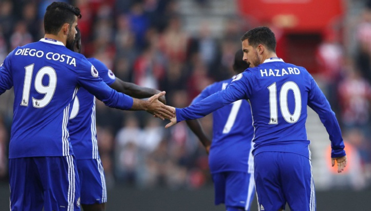 Chelsea s'accroche aux leaders