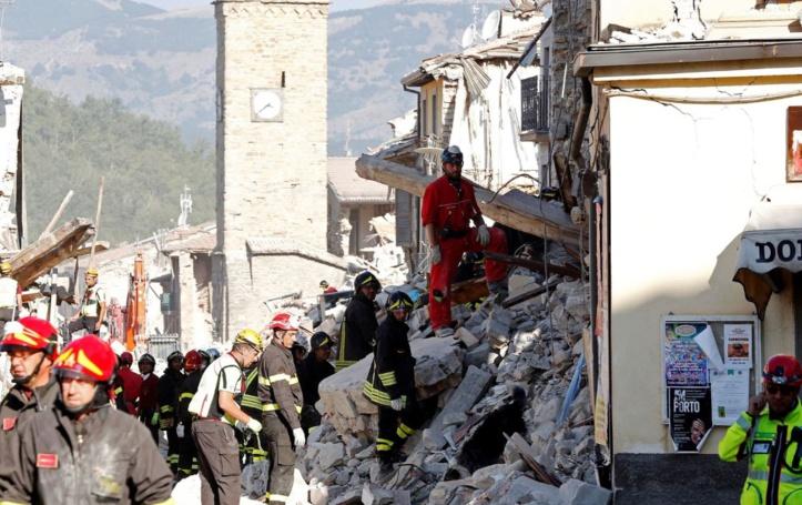Des milliers de personnes désormais sans toit en Italie