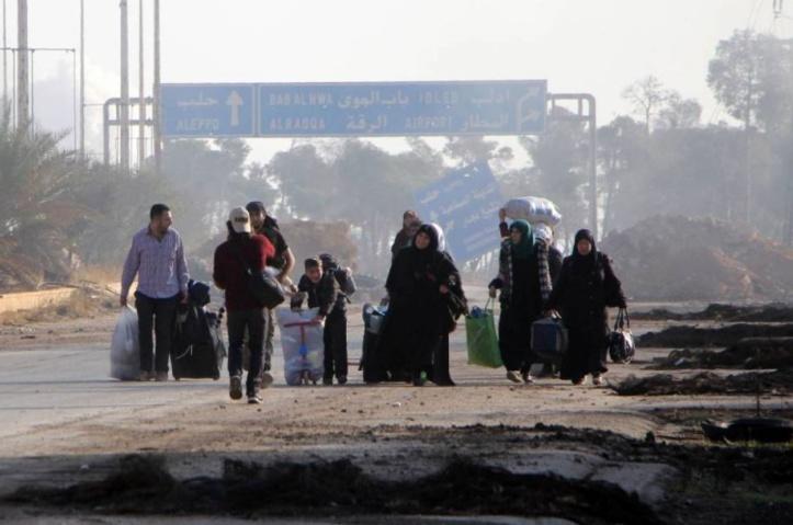 Une  nouvelle pause humanitaire à Alep