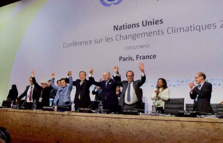 Entrée en vigueur de l'Accord de Paris sur le changement climatique