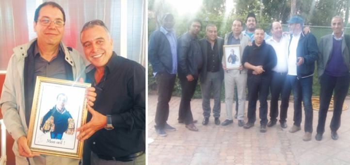 L'hommage mérité à l'ami et confrère Mustapha Laaraki