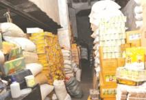 Destruction de plusieurs tonnes de produits alimentaires impropres à la consommation en octobre
