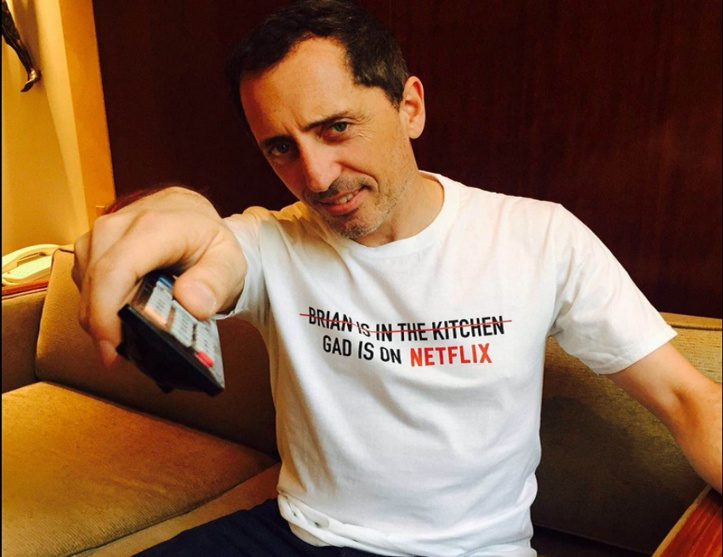 Gad Elmaleh s'allie à Netflix
