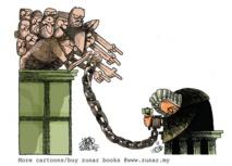 """Un dessinateur satirique arrêté pour """"sédition"""" en Malaisie"""