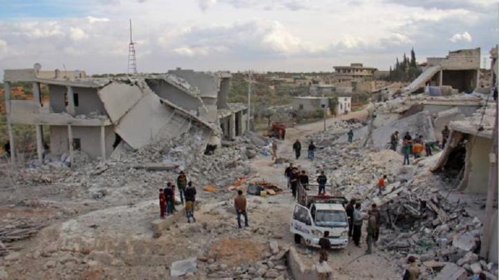 Des milliers de déplacés à Alep-Est