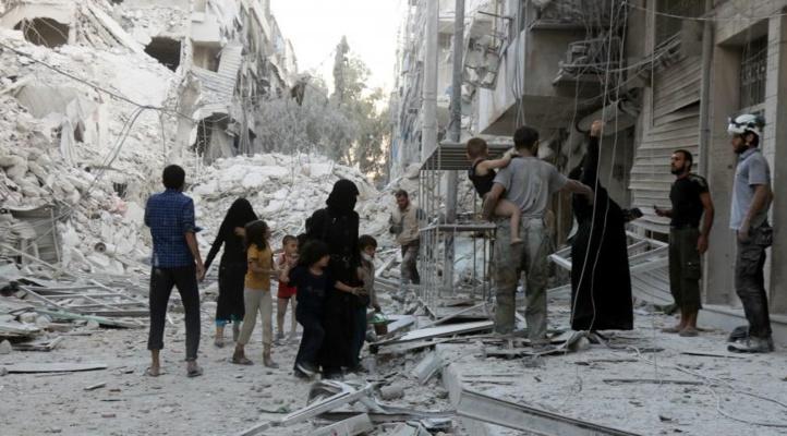 Catastrophe humanitaire à Alep
